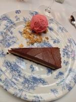 Valrhona Chocolate & Peanut Butter Tart