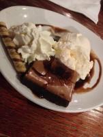 Captain's Brownie dessert