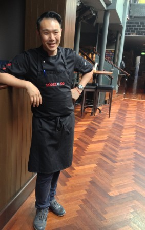 Culinary director & head chef Kwanghi Chan