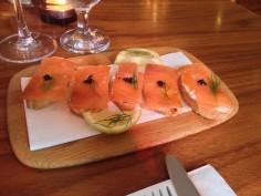Tostados de Salmon