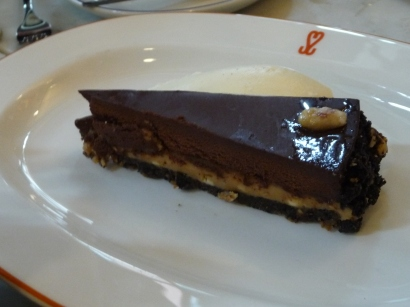 Super Miss Sue - Chocolate & Peanut Tart