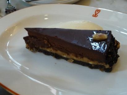 Super Miss Sue - Chocolate & Peanut Tart