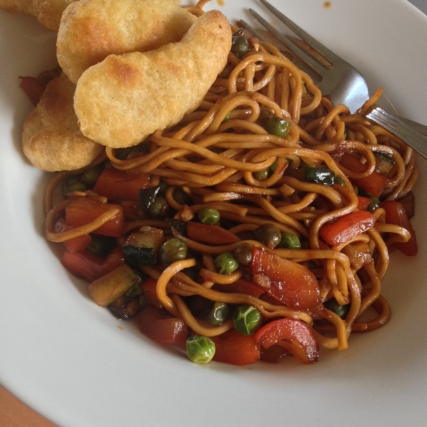 Cookie FM Nirina Sweet Chili Stir Fry
