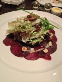 Sauté Chicken Liver Salad