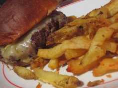 Beefeater Burger & chips