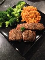 Cookie FM Nirina Salmon Carrot Sweet Potato Mash