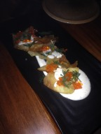 Potato Crisps, Sour Cream & Goatsbridge Trout Roe