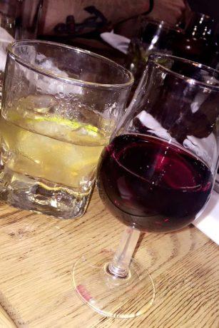 Beer Cocktail and Costa Cruz Tempranillo Shiraz