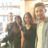 Luke, Aoife, myself and Kieran (Photo by Fiona Reid)