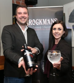 Mike & Hannah of Brockmans Gin