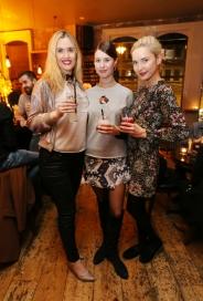 Megan of Brockmans Gin, Joanne Northy & Teodora Sutra