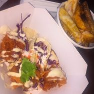 Prawn Tacos & Mexican Spiced Fries