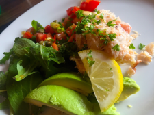 Dingle Crabmeat & Avocado Salad