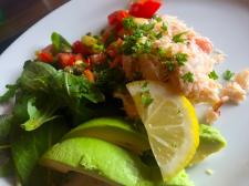 Dingle Crabmeat & Avocado Salad
