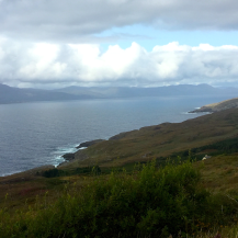 View from Seefin Mountain