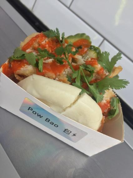 Pow Bao at Eatyard