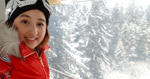 Cookie FM Nirina Borovets Bulgaria Skiing-41