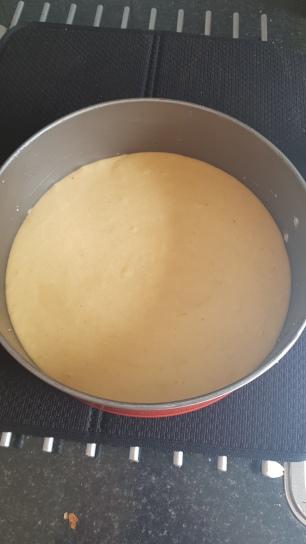 Peach Cake Recipe Cookie FM-7