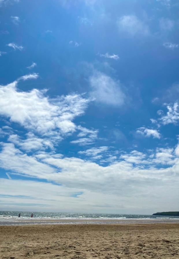Brittas Bay Beach Wicklow Cookie FM Nirina-2