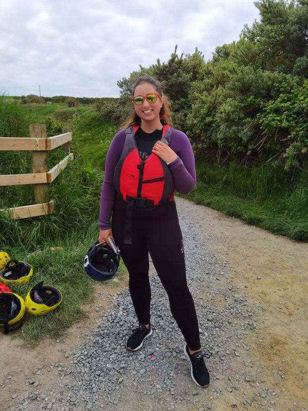Kayaking Irish Experience Wexford Cookie FM Nirina-1