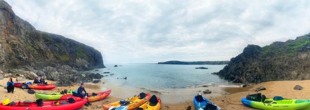 Kayaking Irish Experience Wexford Cookie FM Nirina-10