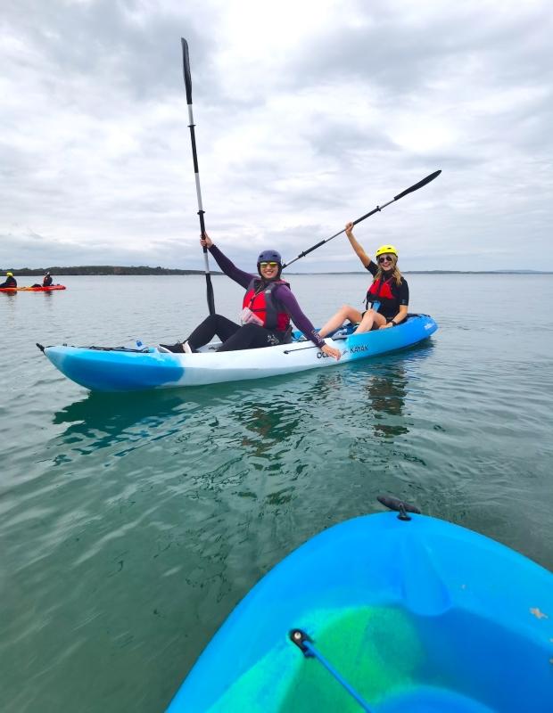 Kayaking Irish Experience Wexford Cookie FM Nirina-11