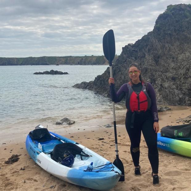 Kayaking Irish Experience Wexford Cookie FM Nirina-13