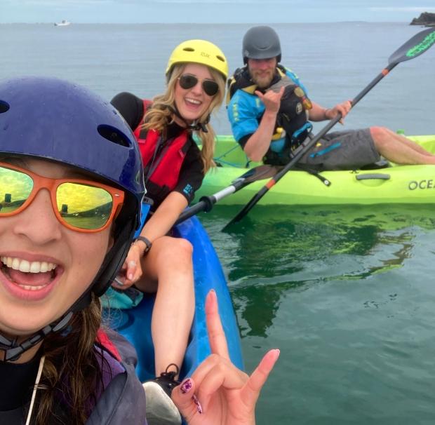 Kayaking Irish Experience Wexford Cookie FM Nirina-14