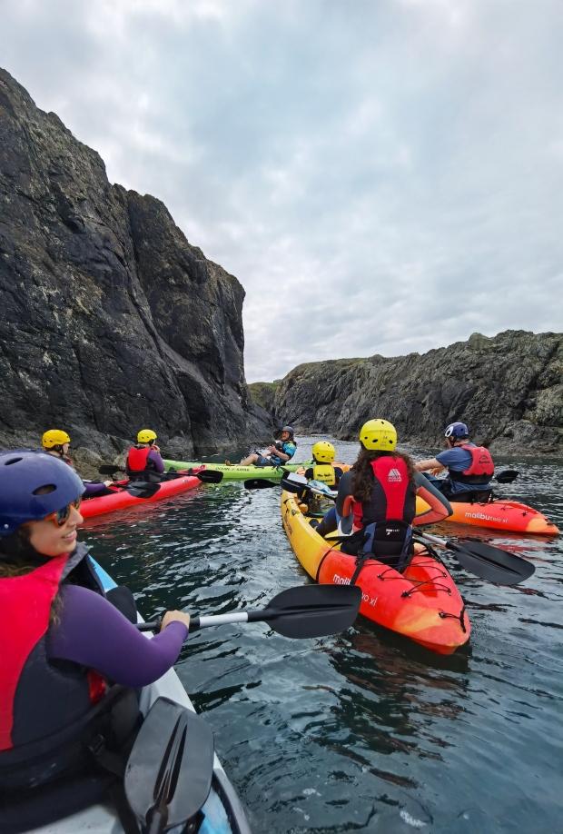 Kayaking Irish Experience Wexford Cookie FM Nirina-4