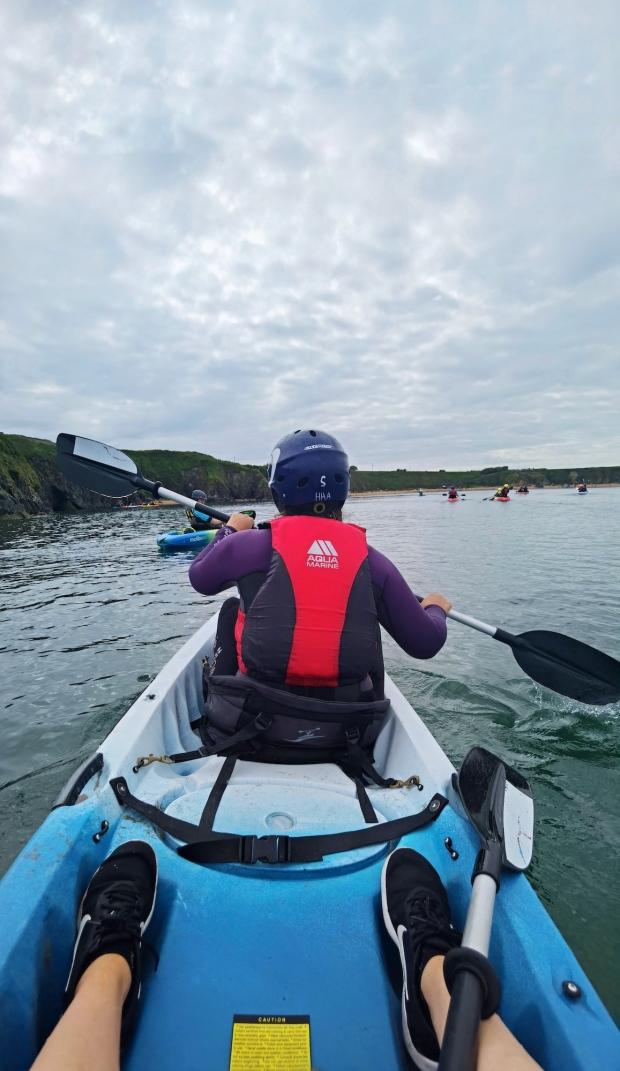 Kayaking Irish Experience Wexford Cookie FM Nirina-5