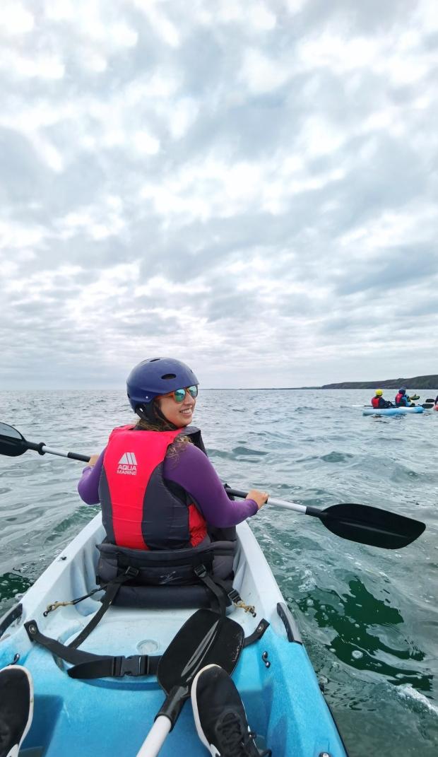 Kayaking Irish Experience Wexford Cookie FM Nirina-7