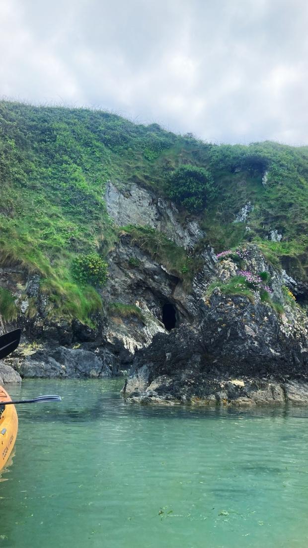 Kayaking Irish Experience Wexford Cookie FM Nirina-9